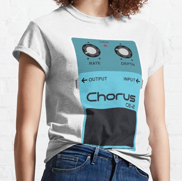 Chorus Guitar Effects Pedal Classic T-Shirt