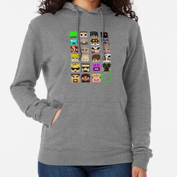 The Whole Dream SMP (Transparent version) Lightweight Hoodie