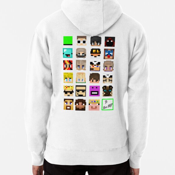 The Whole Dream SMP (Transparent version) Pullover Hoodie
