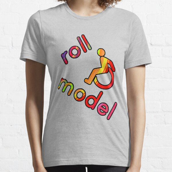 Roll Model - Disability Tees - in bright colours Essential T-Shirt