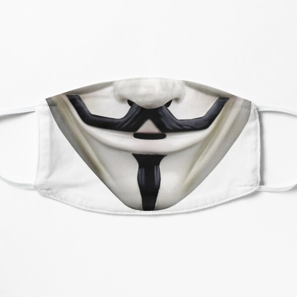 Guy Fawkes Flat Mask