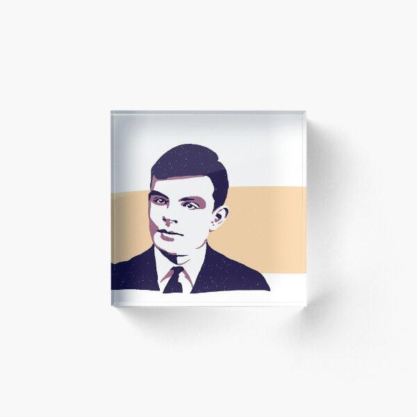 Alan Turing Bloc acrylique