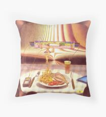 fries - m. a. weisse Throw Pillow