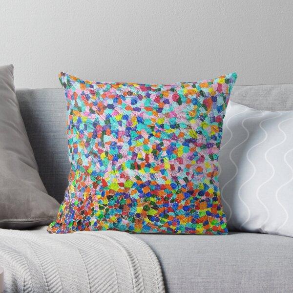 True Colours Shining Through Throw Pillow
