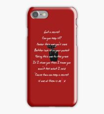 PRETTY LITTLE LIARS- Song iPhone Case/Skin