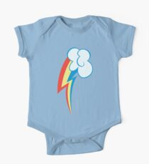 Mein kleines Pony - Rainbow Dash Cutie Mark Baby Body Kurzarm
