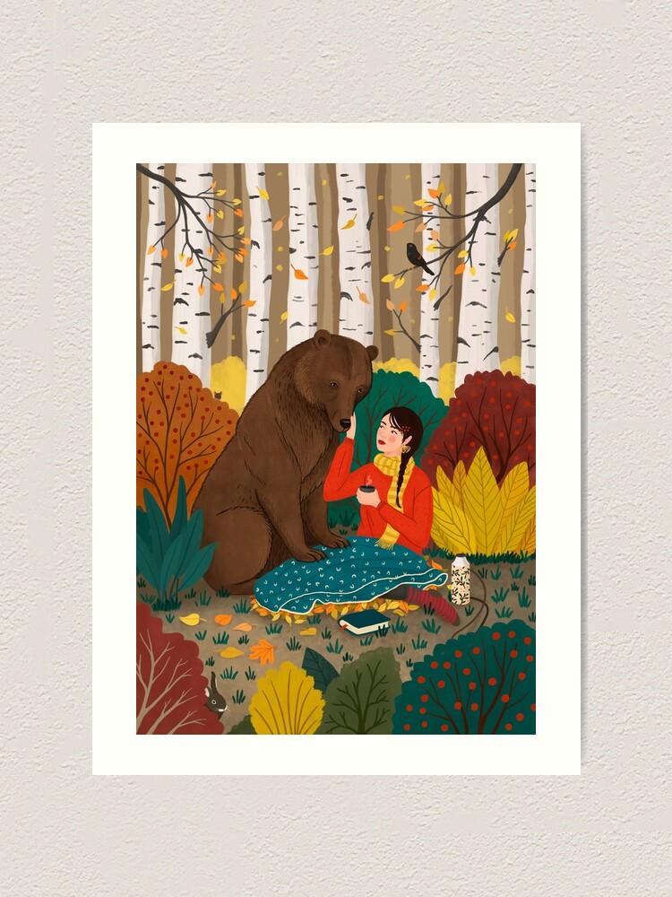 Alternate view of Bear Art Print