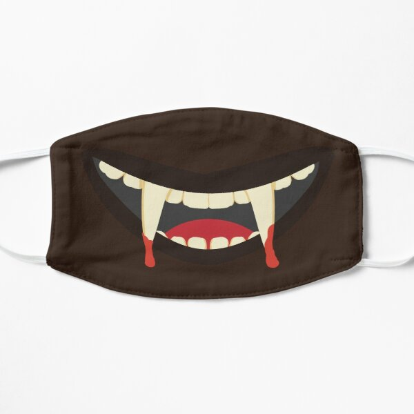 Vampire Mouth Flat Mask