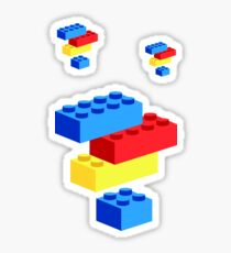 Lego bricks Sticker