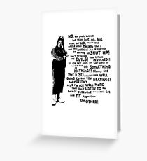 Little Britain - Vicky Pollard Greeting Card