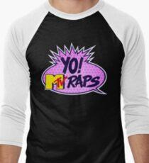 Yo MTV Raps Men's Baseball ¾ T-Shirt