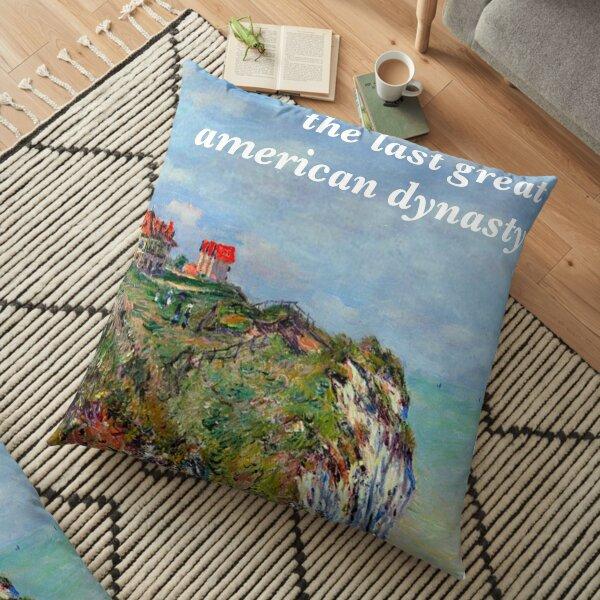 La dernière grande dynastie américaine Tayor Swift Monet Coussin de sol