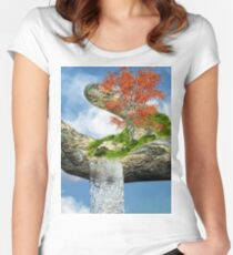 Piece of Nature Women's Fitted Scoop T-Shirt