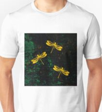 Golden Dragonflies T-Shirt
