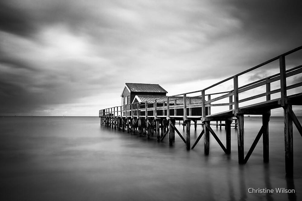 Portsea Pier by Christine Wilson