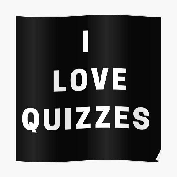 Quiz test Poster