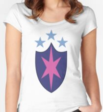 My little Pony - Shining Armor Cutie Mark Women's Fitted Scoop T-Shirt