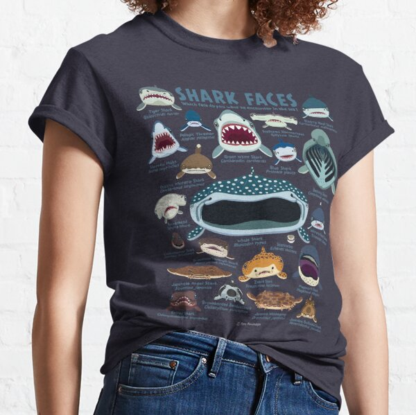 Visages de requin T-shirt classique