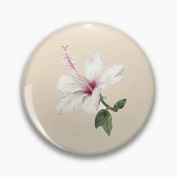 Hibiscus Flower Pin