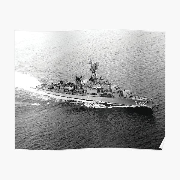USS HARLAN R. DICKSON (DD-708) SHIP'S STORE Poster