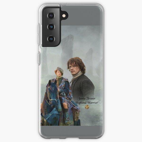 Jamie Fraser-Highland Warrior/Outlander Samsung Galaxy Soft Case