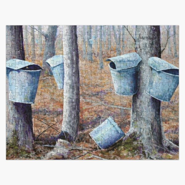 Maple Sugaring In Vermont Jigsaw Puzzle Jigsaw Puzzle