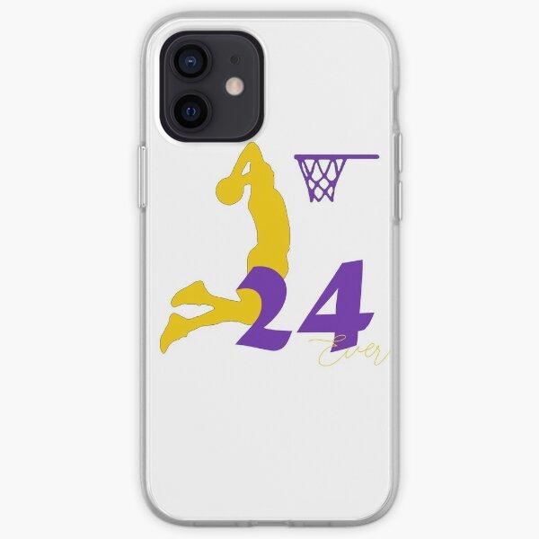 "Kobe Bryant ""The Black Mamba"" Coque souple iPhone"