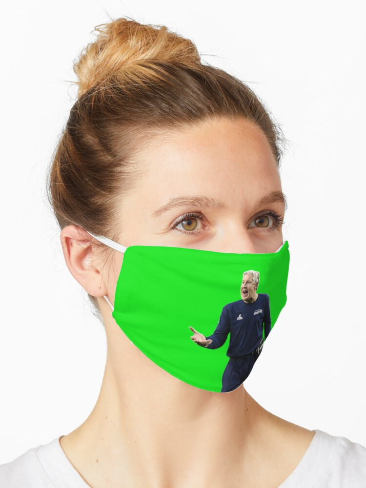 Pete Carroll Raging Mask By Stopcereal Redbubble