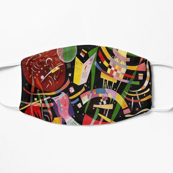 """Composition X"" |  Wassily Kandinsky Abstract Art Flat Mask"