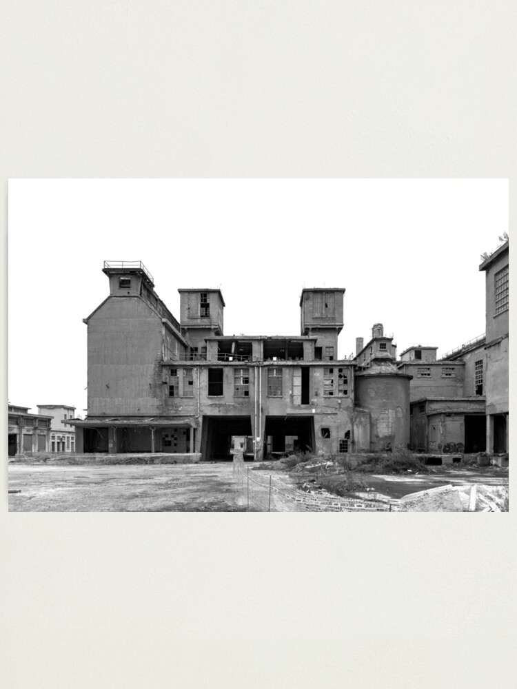 Alternate view of The former cement factory Photographic Print