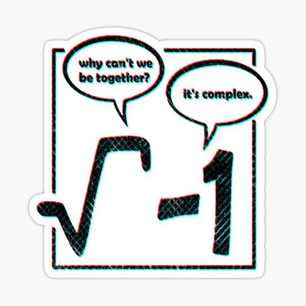 math funny Sticker
