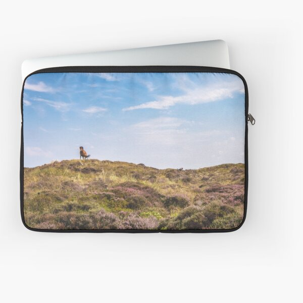 Wild horse on a hill Laptop Sleeve