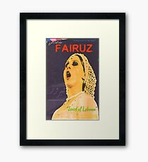 FAIRUZ  Framed Print