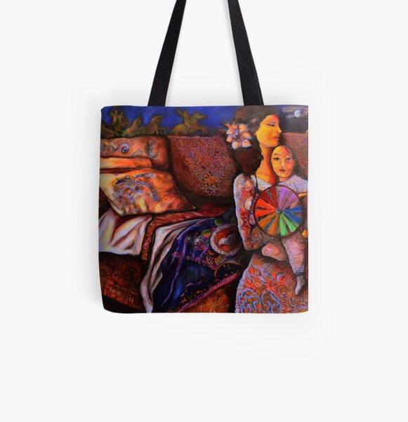 Umanity All Over Print Tote Bag