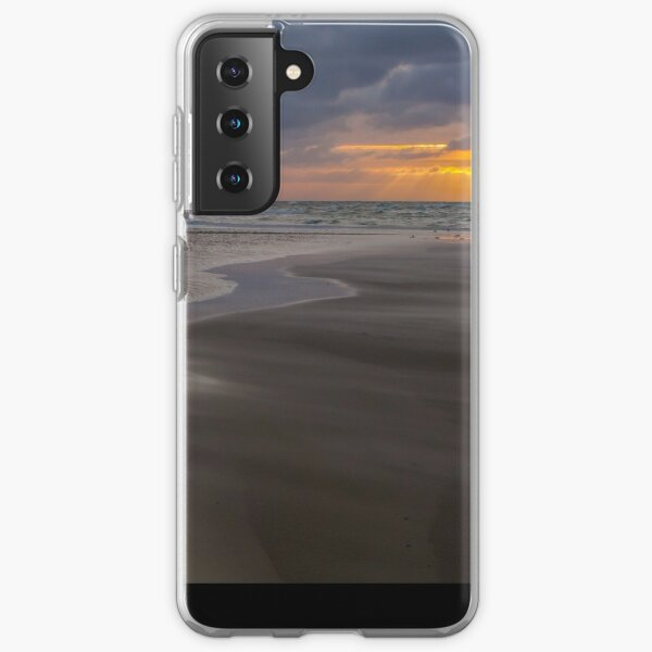 Sunrise over the ocean at the northern tip of Denmark Samsung Galaxy Soft Case