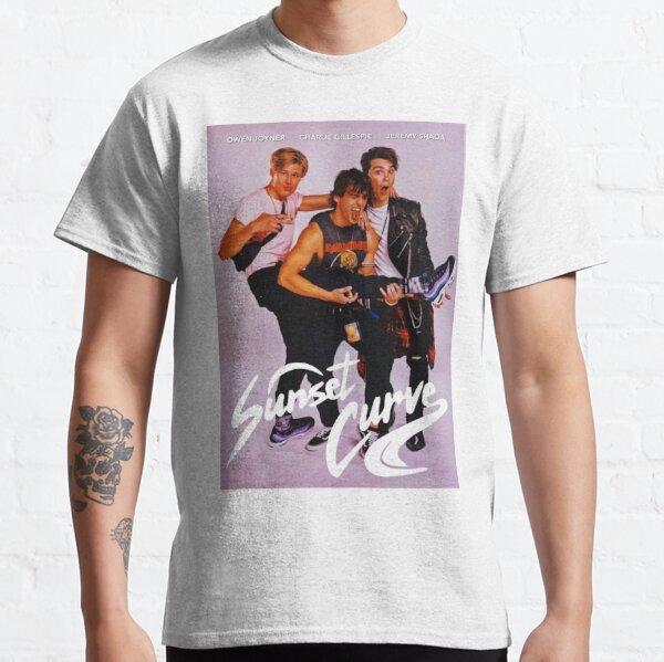 Affiche du groupe Sunset Curve T-shirt classique