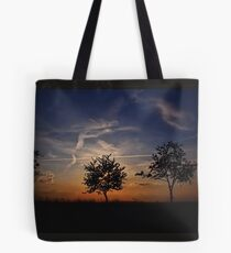 Sunset Review Tote Bag