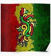 Cool Reggae Bird Poster