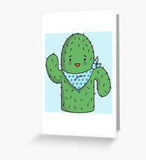 Mr J.G Cactus  Greeting Card