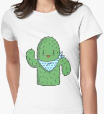 Mr J.G Cactus  Women's Fitted T-Shirt