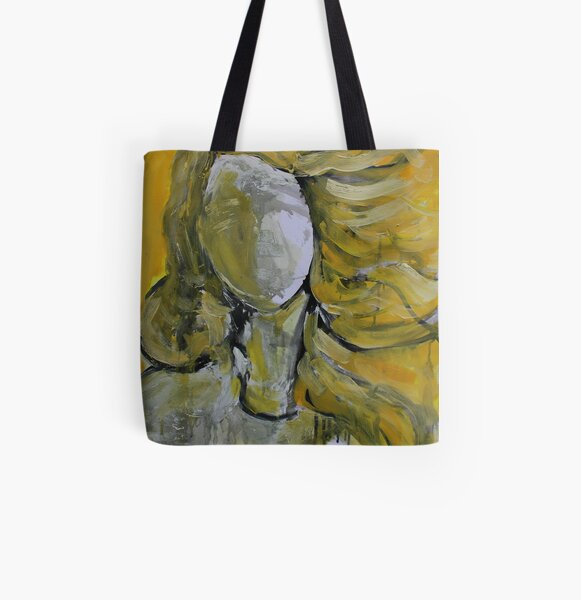 Absence Botticelli's Birth of Venus All Over Print Tote Bag