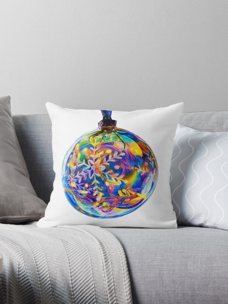 Colourful Bauble Decoration by Sarah Ludar-Smith