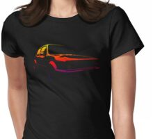 golf gti colored Womens Fitted T-Shirt