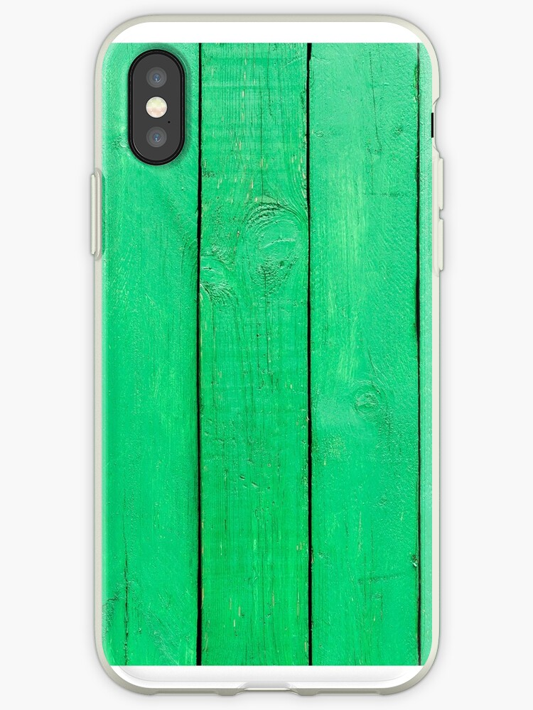 Green Wooden Planks by alexrvan