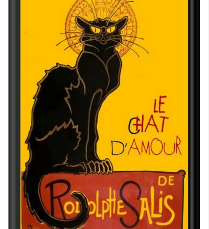 Le Chat D'Amour Love Greeting  Sticker