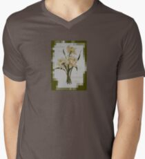 Wishing You A Wonderful Day Double Narcissi In A Bouquet Mens V-Neck T-Shirt