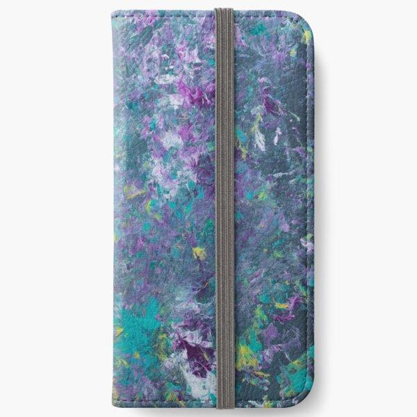 Pour Splatter Art iPhone Wallet