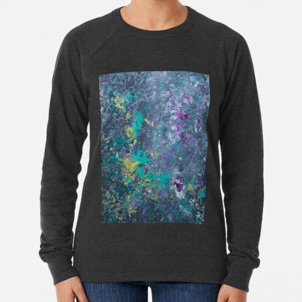 Pour Splatter Art Lightweight Sweatshirt