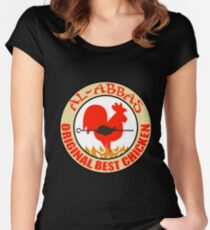 Al-Abbas: Original Best Chicken Women's Fitted Scoop T-Shirt