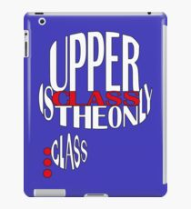 Bowler and Monocle iPad Case/Skin